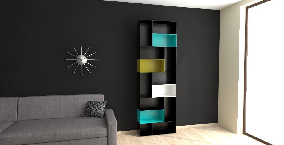 Magnetic TV wall