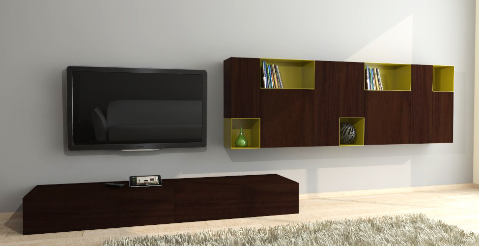 Magnetic design living room