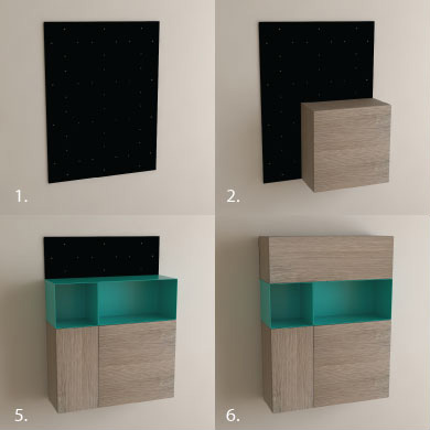 Modular Furniture Assembly